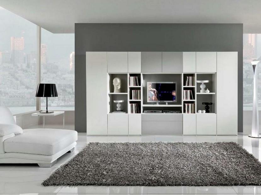 Минимализм гостиной может быть и таким - это хорошее решение для отделки квартир-студий - otdelat.ru