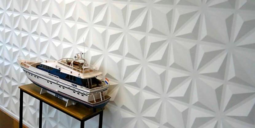 Так в помещении может выглядеть декоративная штукатурка стен - otdelat.ru