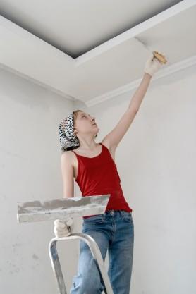 Как штукатурить потолок? На самом деле легко - otdelat.ru