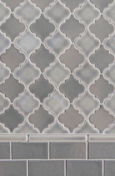 Пластиковая плитка с узором в интерьере ванной комнаты - otdelat.ru