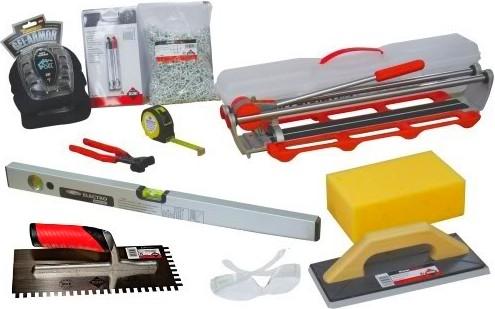Набор инструментов для крепления плитки - otdelat.ru