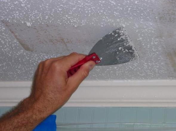 Даже если квартира в новостройке - при ремонте потолок шпаклюют - otdelat.ru