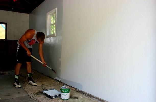 Краска для гаража - это очень серьёзный момент - otdelat.ru