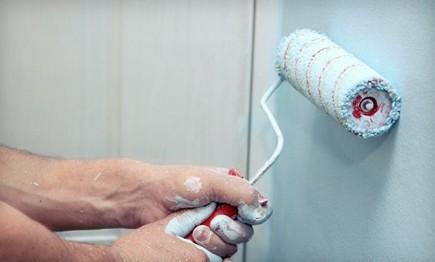 Водоэмульсионные покрытия тоже пользуются большой популярностью для гаражей - otdelat.ru