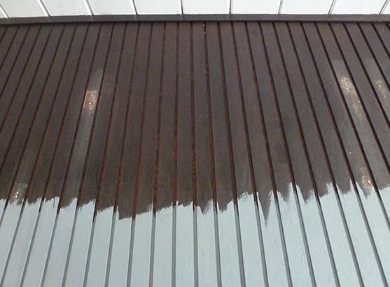 Окрашивание гаражных стен в процессе - otdelat.ru