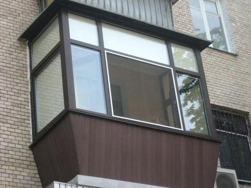 Эффектная внешняя отделка балкона - otdelat.ru