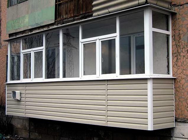 Сайдинг - идеальная наружная отделка Вашего балкона! Проверено - otdelat.ru