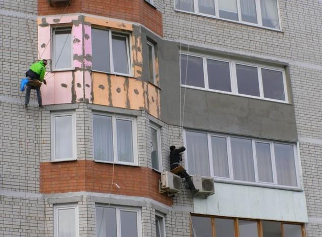 Высотные работы по плечу лишь квалифицированным мастерам со страховкой и допуском - otdelat.ru