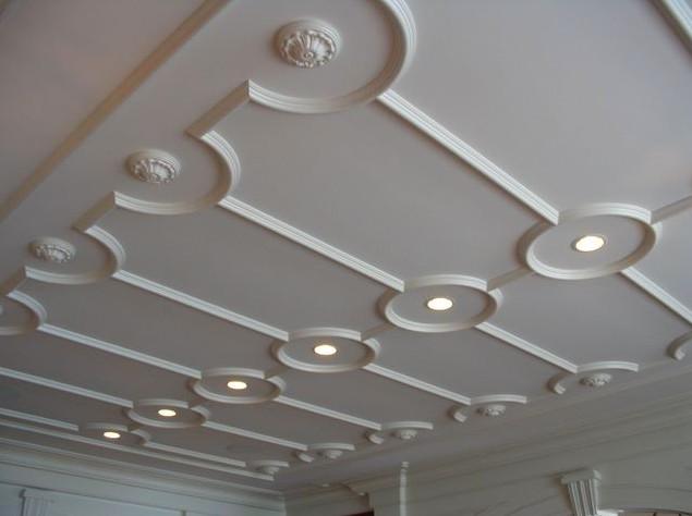 Декоративная отделка потолков может быть такой у вас дома - otdelat.ru
