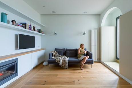 В интерьерах современных квартир арки используются часто - otdelat.ru