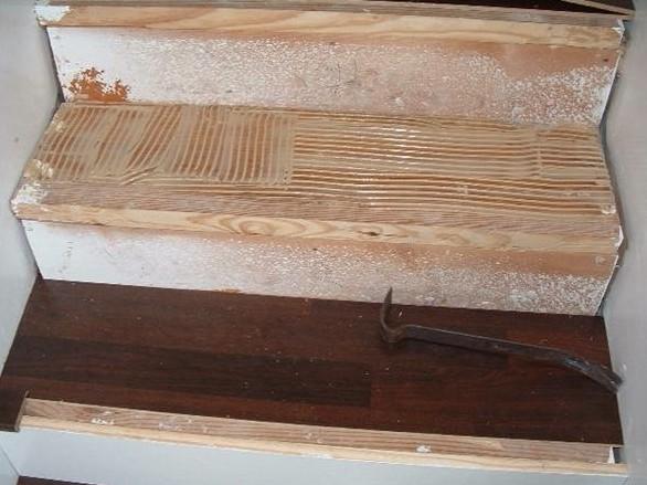 Облицовка бетонной лестницы может быть выполнена разными способами - otdelat.ru