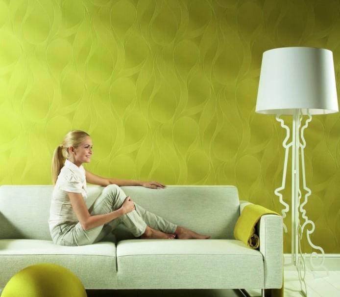 Конечный результат может выглядеть примерно так: стеклообои под покраску очень эффективны в эстетическом плане - otdelat.ru