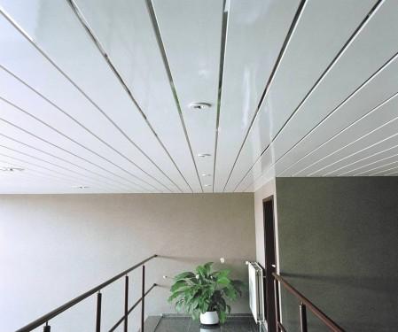 Для облицовки потолка часто выбирают пластиковые панели - otdelat.ru