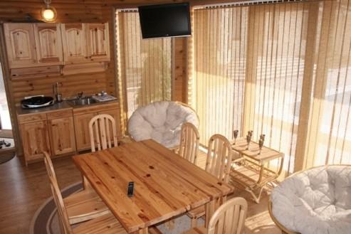Банная комната отдыха в русском стиле - otdelat.ru