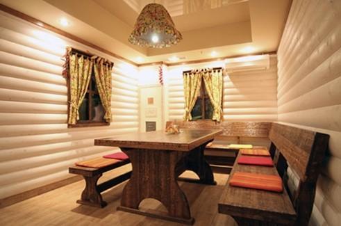 Комната отдыха обставлена просто, но со вкусом - otdelat.ru