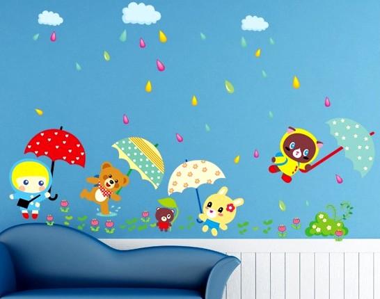 Отделка детской комнаты: стены здесь должны быть самыми милыми в доме - otdelat.ru