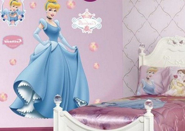 Декор в виде образов из любимых мультиков - прекрасный выбор для малыша - otdelat.ru