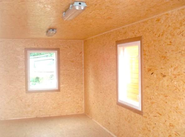 Отделку домов внутри часто выполняют ОСБ плитами - otdelat.ru