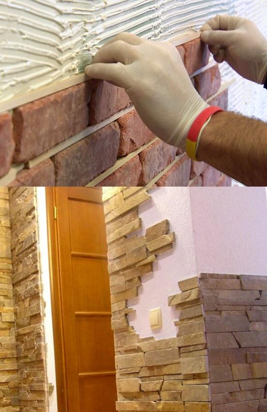 Качественный декоративный камень выглядит великолепно - otdelat.ru