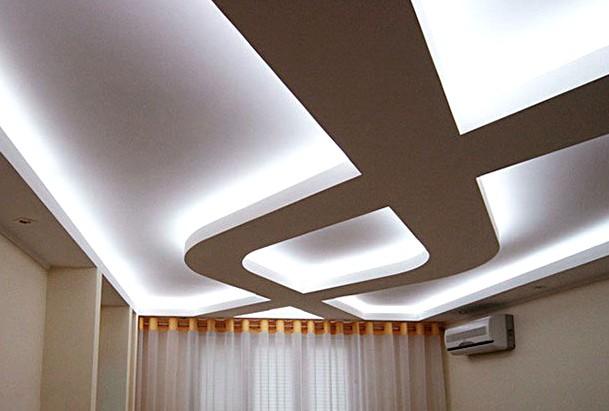 Отделать потолок гипсокартоном нужно также в том случае, если в помещении делается подвесной потолок - otdelat.ru