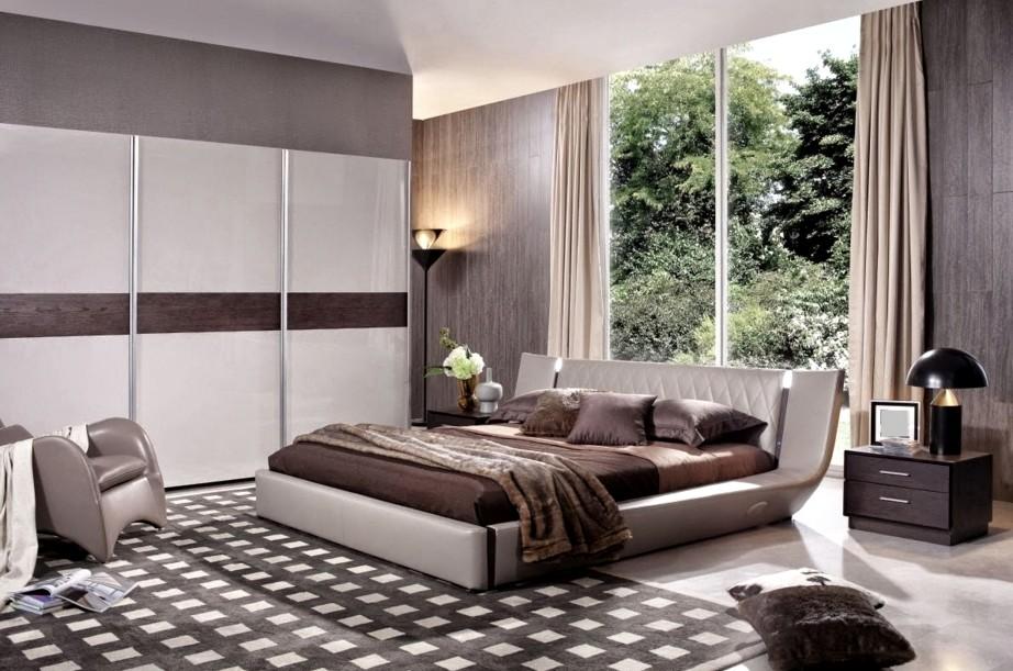 Грамотно подобранные шторы украсят любую спальную комнату: фото это подтверждает - otdelat.ru