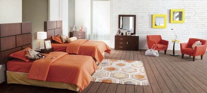 Такой интерьер спальни - лучший выбор для просторной современной квартиры - otdelat.ru