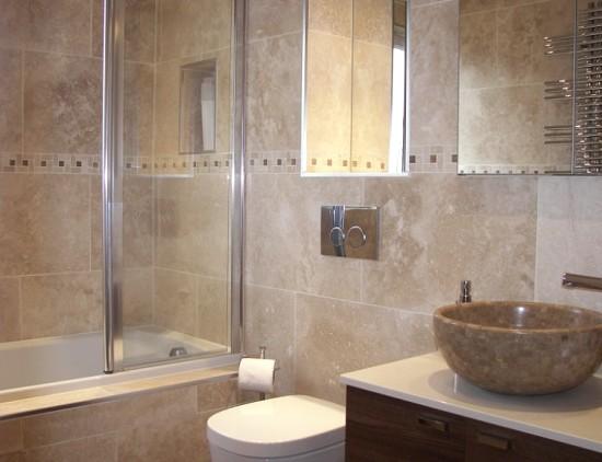 Керамическая плитка - вариант, который всегда будет популярным в облицовке ванных - otdelat.ru