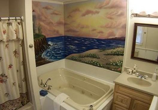Обои - вариант на все времена, в том числе и для ванных комнат - otdelat.ru