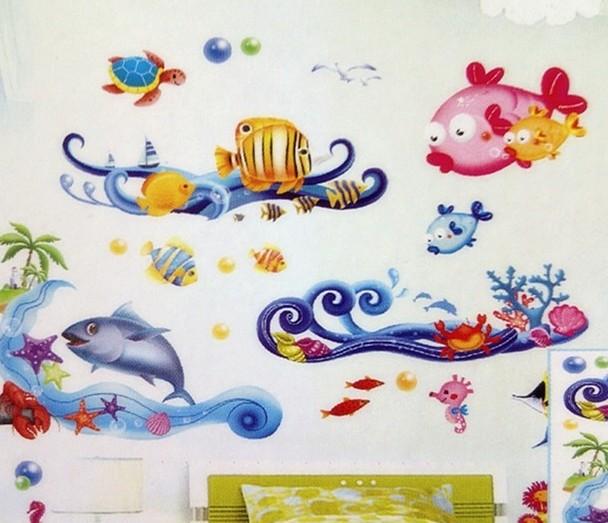 Тематичные рисунки на стенах - это именно то, что нужно - otdelat.ru