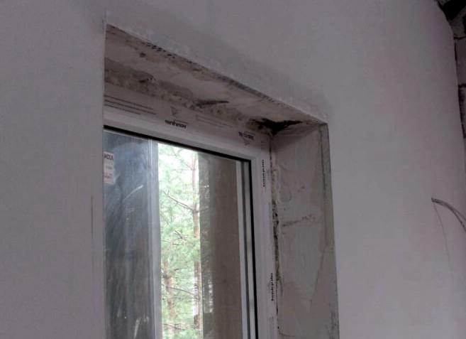 Подготовка к оштукатуриванию практически выполнена - скоро окно обретёт свой конечный вид - otdelat.ru