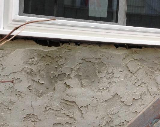 Работа в разгаре - для оформления окна можно использовать лепнину - otdelat.ru