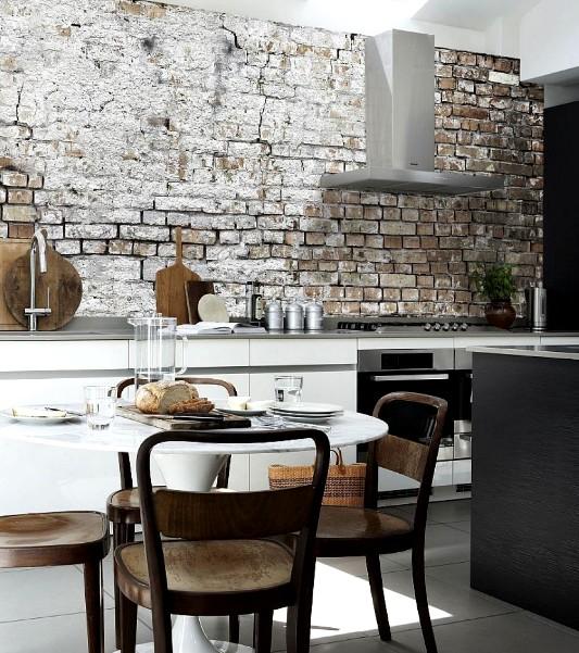 Благодаря большому выбору полотен, кухня может обрести действительно интересный внешний вид - otdelat.ru