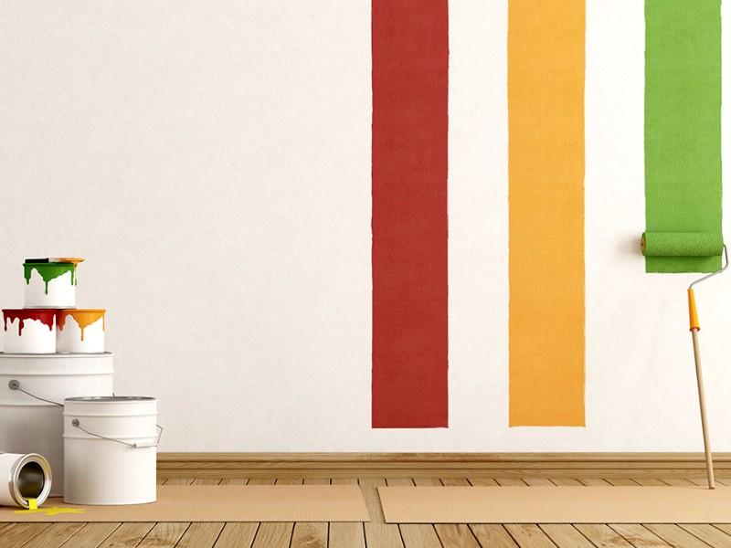 Иногда уместно использовать специальный растворитель для акриловой краски - otdelat.ru