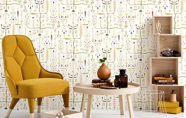 Обои подходят не только для стен, но и для прочих поверхностей - это ещё одно важное достоинство данного материала - otdelat.ru
