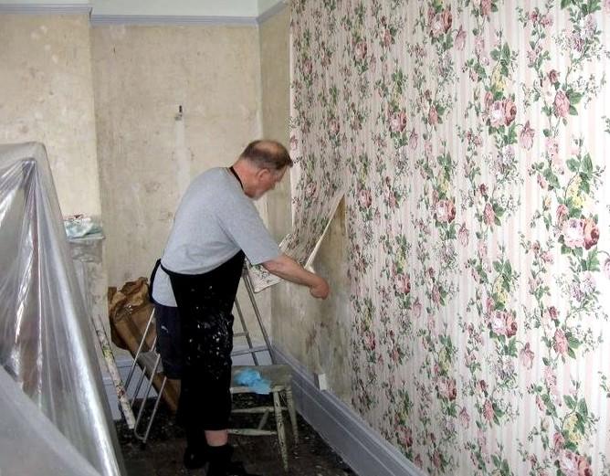 Есть несколько способов, которые гарантированно помогут избавиться от старых полотен - даже если они советские - otdelat.ru