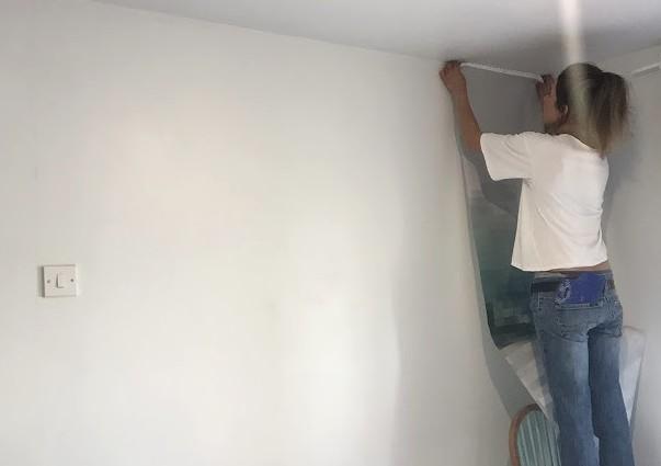 Качественно нанесённое полотно способно преобразить любую комнату - даже самую неприглядную - otdelat.ru