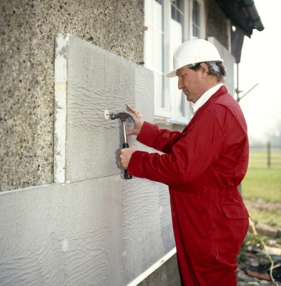 Пенопласт - материал который нередко применяют для утепления наружных стен - otdelat.ru