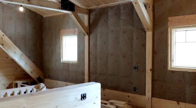 Важно подобрать качественный утеплитель для стен каркасного дома - чтобы внутри строения было тепло всегда - otdelat.ru