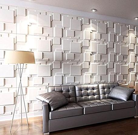 Прекрасный декор возможен с 3d панелями на стенах - otdelat.ru