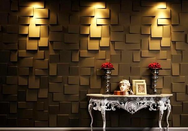 Дорого и стильно - стеновые панели из натуральной древесины в интерьере - otdelat.ru