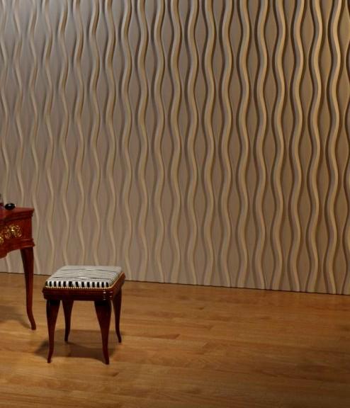 Стена после облицовки может выглядеть так - otdelat.ru