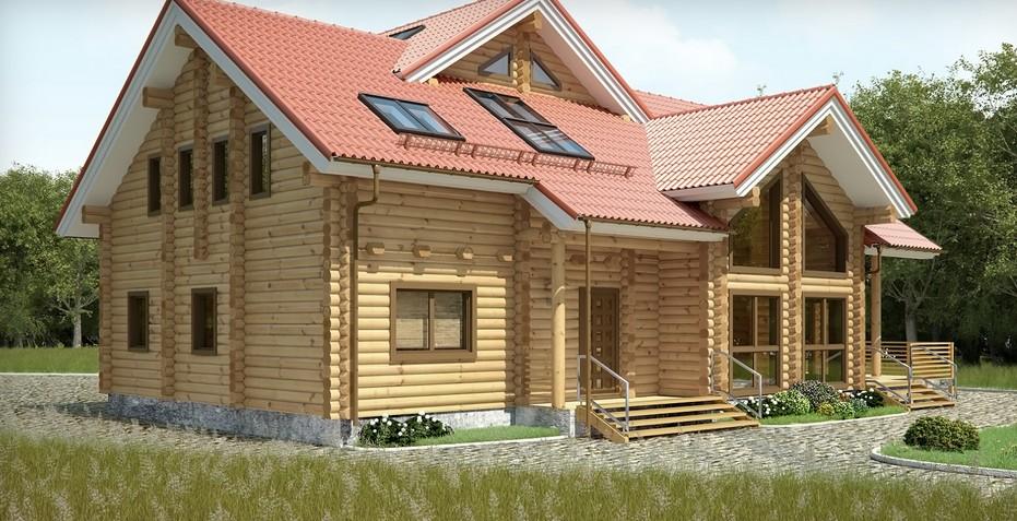 Чем отделать внутри деревянный дом: пол, стены, потолок
