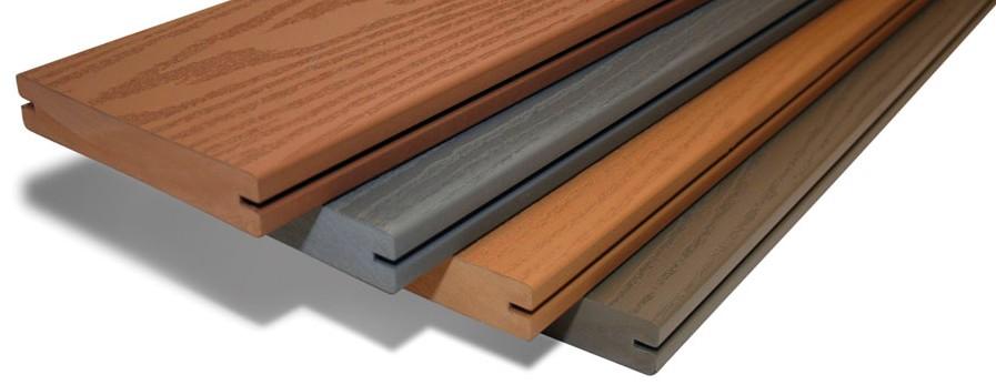 Древесно-полимерная террасная доска - особенности и использование материала
