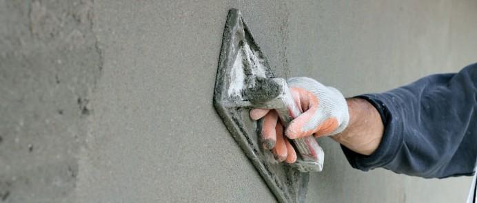 Mavec iz cementnega peska na plastično peno