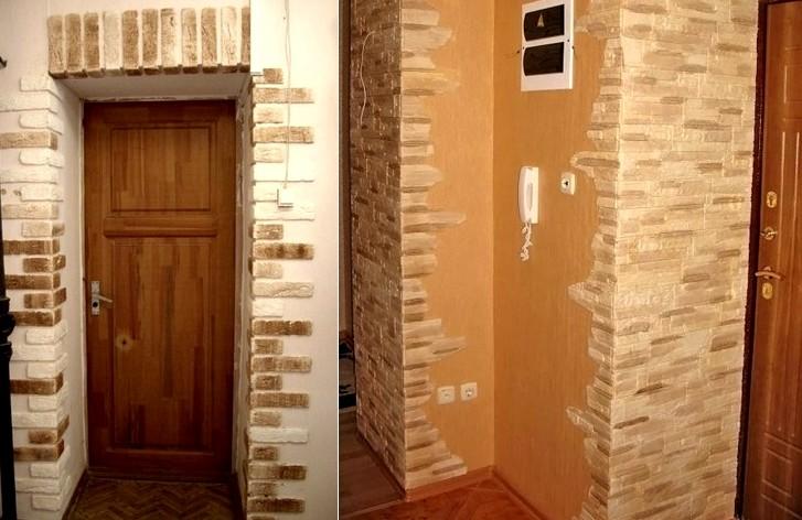 фото дверных проемов отделка