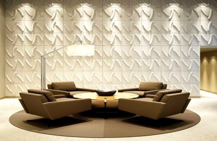 Стеновые панели 3D и их особенности