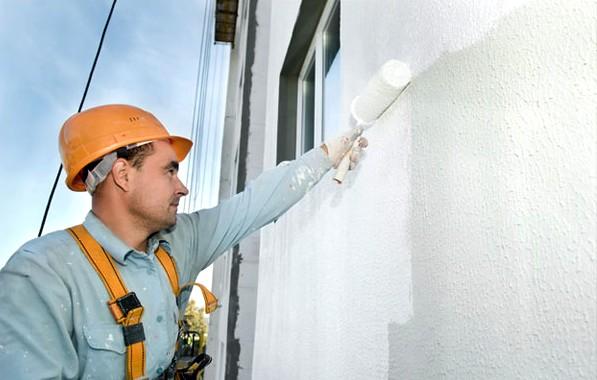 Тёплая штукатурка для фасада и внутренних работ