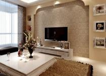 Чем и как отделать стены в гостиной комнате