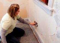 Штукатурка стен - наружная и внутренняя