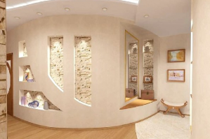 Декоративный гипсокартон для отделки помещений